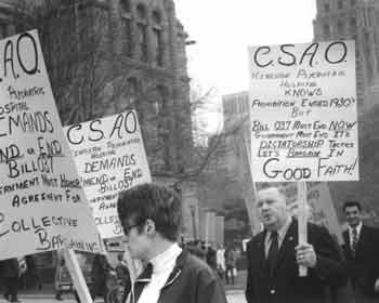 Civil Service Association of Ontario members