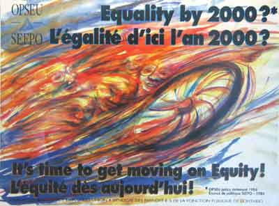 Equality by 2000! poster