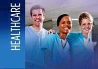 Healthcare. Images of hospital professionals