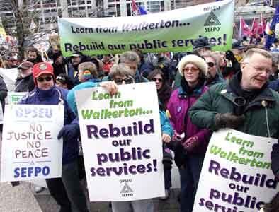 Rebuild our public services