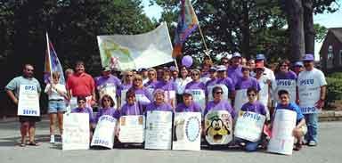 OPSEU/SEFPO members at Kingston