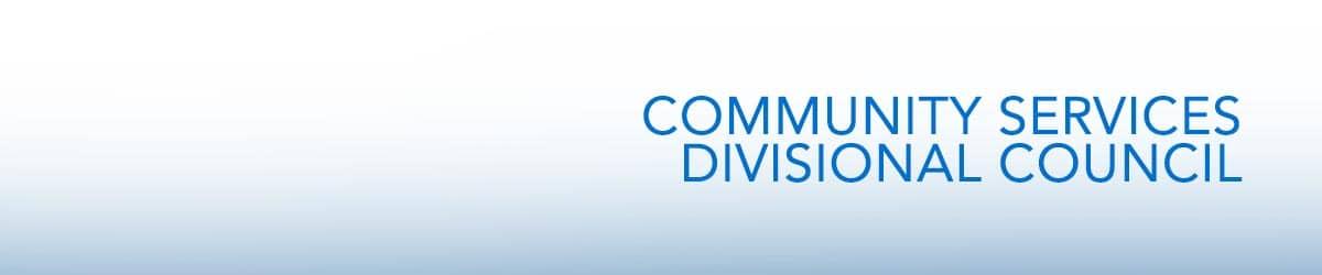Community Services Divisional Council