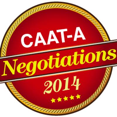 CAAT-A Negotiations 2014 logo