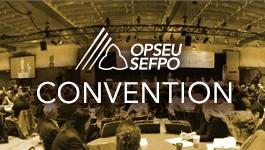 OPSEU/SEFPO Convention Banner