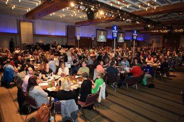 Crowd at OPSEU's 2015 convention