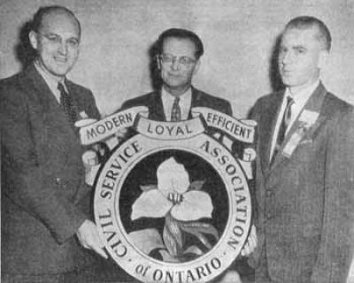 Harold Bowen, Civil Service Association of Ontario president
