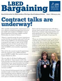 LBED Bargaining Bulletin