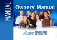 OPSEU Owners' Manual