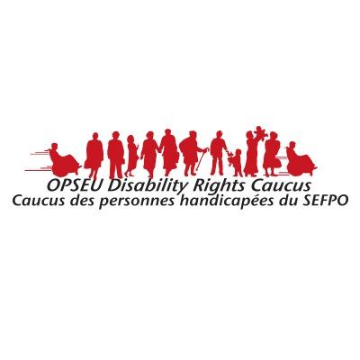 OPSEU Disability Rights Caucus, Caucus des personnes handicapees du SEFPO