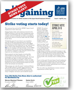 LBED Bargaining Bulletin, Issue 6