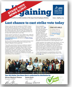 LBED Bargaining Bulletin, Issue 7