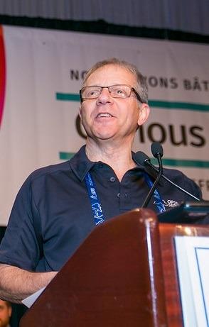 Jeff Arbus speaks at Convention.