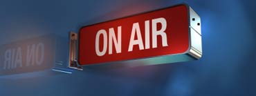 """Illustration of an """"On Air"""" sign."""