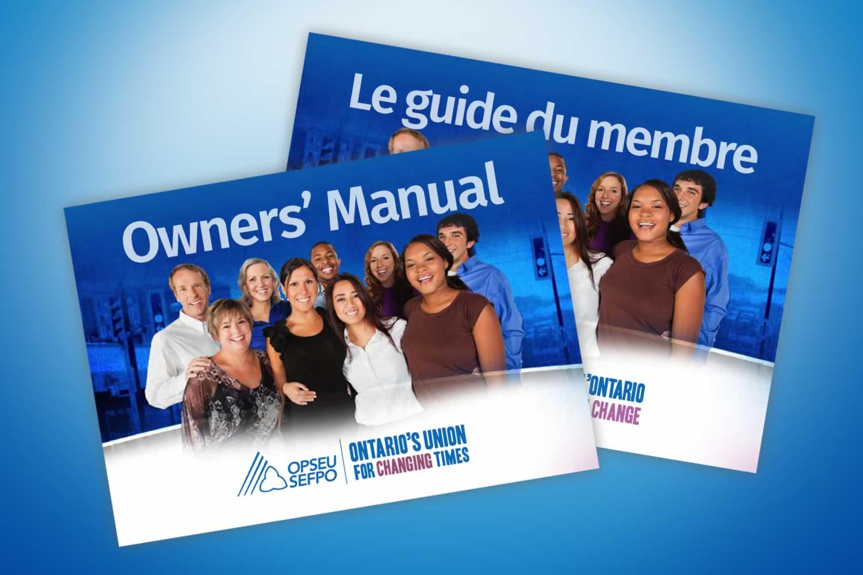 OPSEU Owner's Manual / SEFPO Le guide du membre