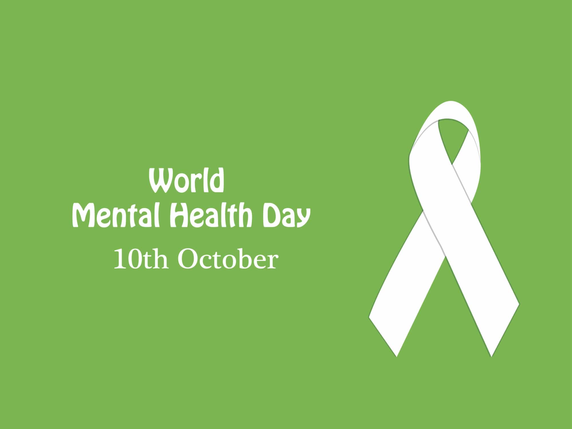 World Mental Health Day October 10th