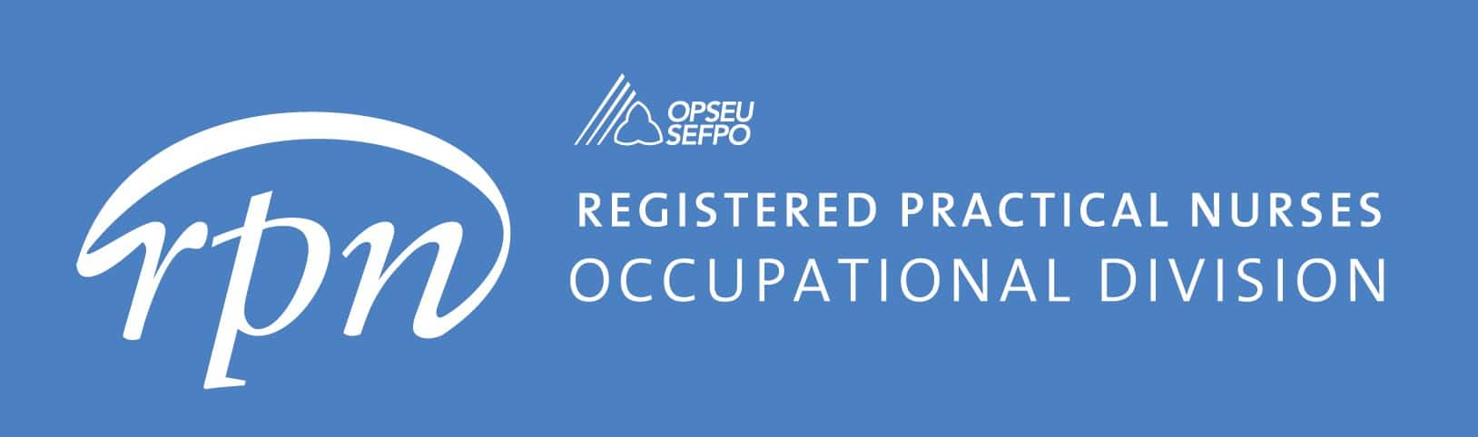 RPN: Registered Practical Nurses Occupational Division