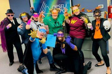 Celebrating Halloween across Ontario at OPSEU