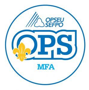 English round MFA logo