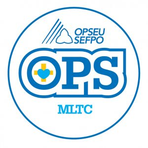 English round MLTC logo