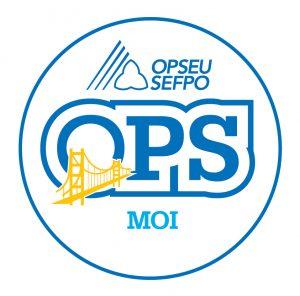English round MOI logo