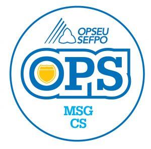 English round MSG-CS logo