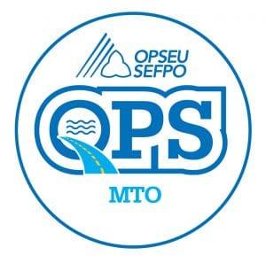 English round MTO logo