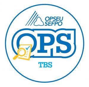 English round TBS logo