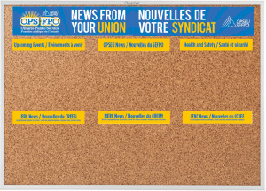 OPS Unified OPSEU bulletin board