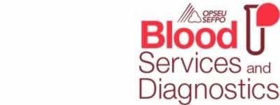 OPSEU/SEFPO Blood services and diagnostics logo
