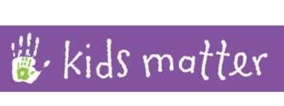Kids Matter logo of hand