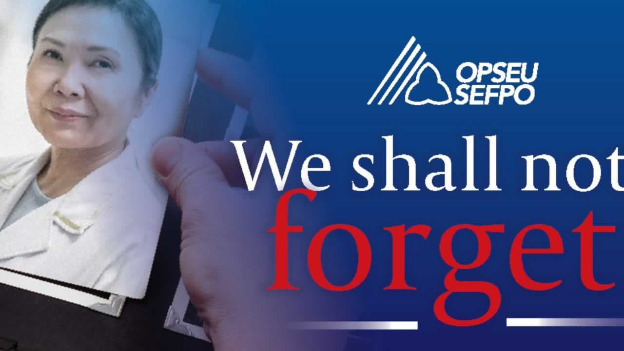 We shall not forget