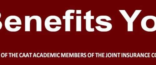 Benefits You: A publication of CAAT academic members of the Joint Insurance Committee (JIC)