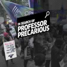In search of Professor Precarious