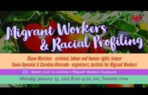 Migrant Workers and Racial Profiling.