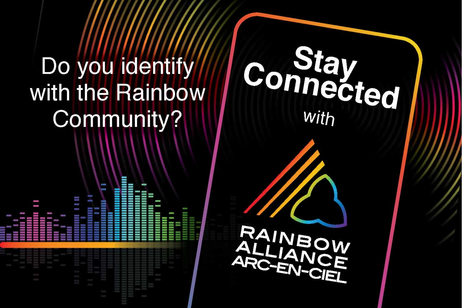 Poster: Stay Connected with the Rainbow Alliance
