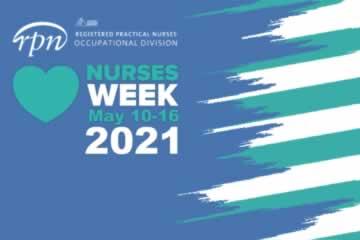RPN: Nurses Week Banner, May 10-16 2021