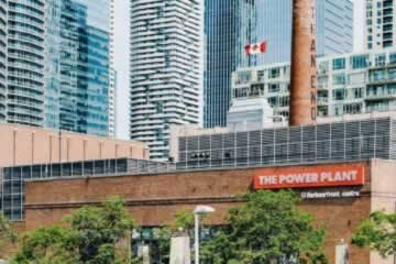 The Power Plant Contemporary Art Gallery on the Toronto Harbourfront