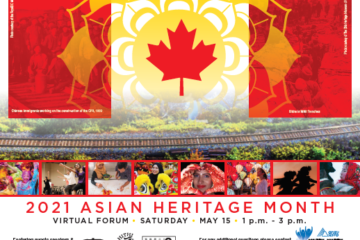 2021 Asian Heritage Month Virtual Forum on May 15, from 1PM to 3PM
